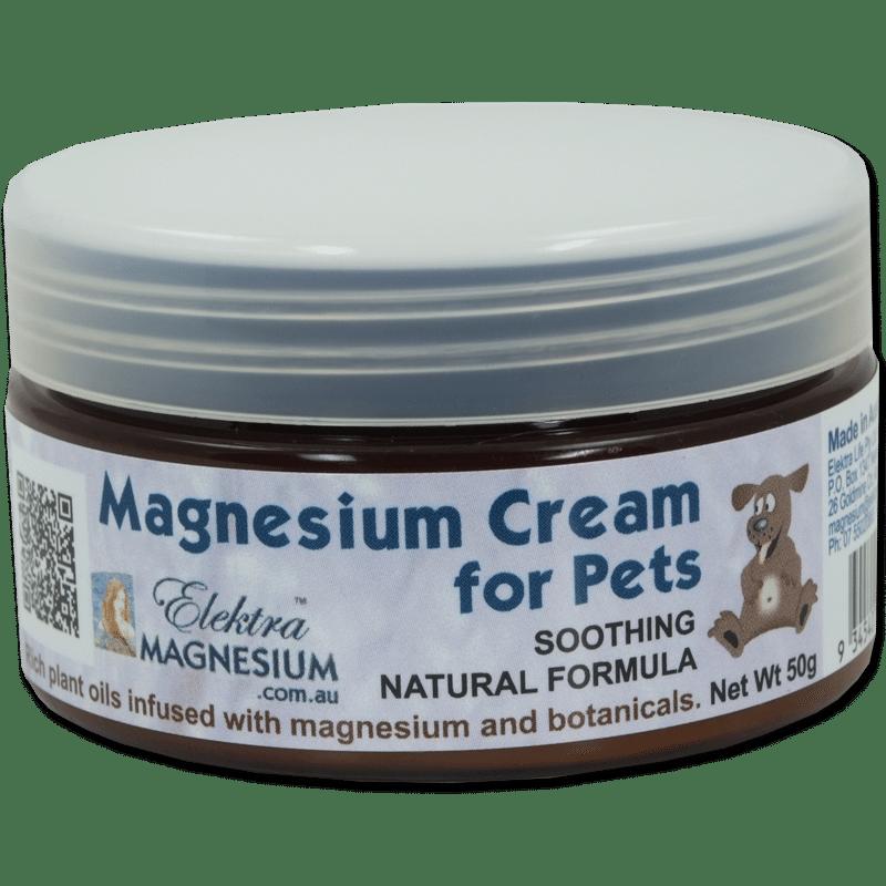 Magnesium Pet Cream 50g Jar