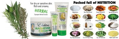 Herbal Magnesium Cream Ingredients