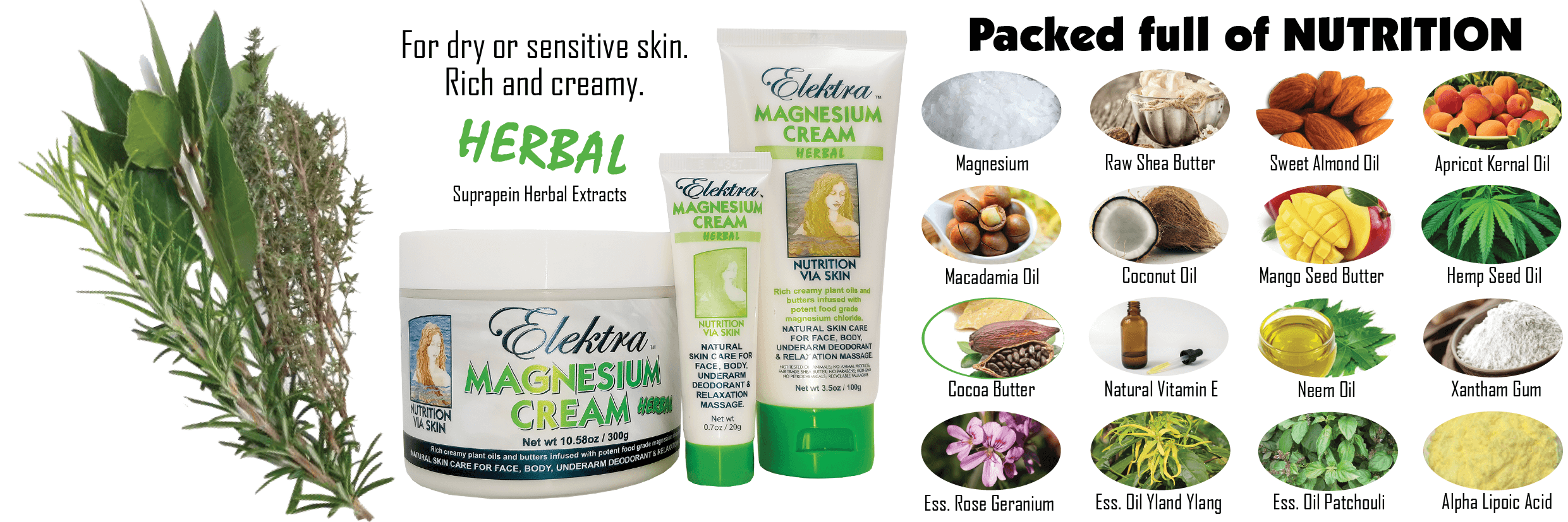 Herbal Magnesium Cream